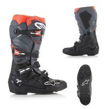 Alpinestars TECH 7 ENDURO Stiefel schwarz grau Offroad Boots