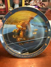 The Garfield Collector Plates� Dear Diary Series� Art Project 1990 8 Inches