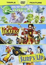 Pirates / Planet 51 / Surf's Up [New DVD]