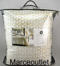 Hotel Collection Bedford Geo King Comforter Neutral / Gray