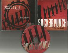 SUCKERPUNCH Shtlist ULTRA RARE PROMO Radio DJ Cd Single 1996 USA MINT