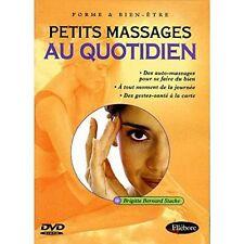 "DVD NEUF ""PETITS MASSAGES AU QUOTIDIEN"" relaxation"