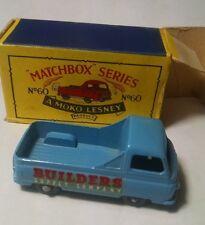 Matchbox Regular Wheel 60 Morris Pickup BPW White Decal 1958