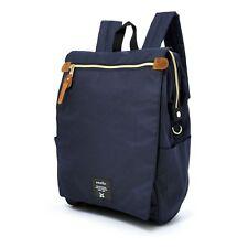 Anello Navy Blue Japan Fashion Flip Cover Backpack Rucksack Diaper Travel Bag