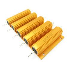 10PCS 1.0 Ohm 1R 100W Watt Metal Shell Case Wirewound Power Resistor Wholesale