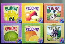 Kinder Bilderbücher 6er Set Natur Bilderbuch Toys Kleinkinder Bilder 6-sprachig