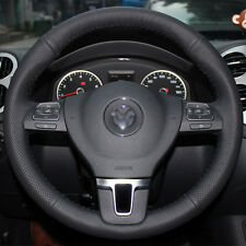 Steering Wheel Cover for 09-14 Volkswagen Passat Tiguan VW Jetta Golf CC Eos