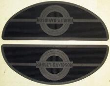 Panhead Harley-Davidson MOON FLOORBOARD H-D RUBBER MATS 50614-40 FootBoard