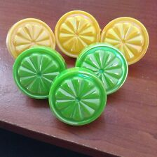 cakes & cupcakes picks decorations lemons & limes Lot Of 12pc