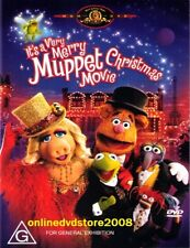 It's a VERY MERRY MUPPET CHRISTMAS MOVIE (Kermit The Frog) Comedy Film DVD Reg 4
