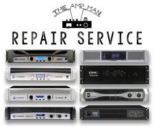 CROWN & QSC AMPLIFIER REPAIR SERVICE CROWN XTi, CDi, QSC PLX, CX, etc.