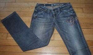 G-STAR  Jeans pour Femme W 26  - L 30  Taille Fr 36 (Réf E484)