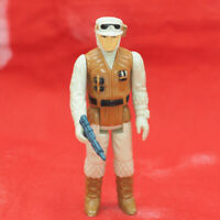 Vintage Star Wars Rebel Soldier Hoth Action Figure w/ Weapon