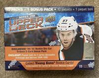 2020-2021 upper deck Series One hockey Mega Box!!! NHL ROOKIES🔥🔥🔥