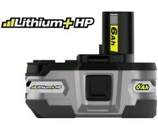 NEW Ryobi battery 18-Volt ONE+ Lithium-Ion LITHIUM+ HP 6.0 P164 Free Priority
