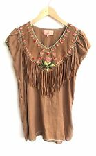 Manoush Size 34 Brown Top