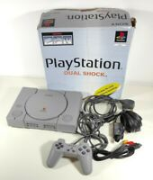Boxed Sony PlayStation 1 Console + Controller + All Leads SCPH-7502 Bundle