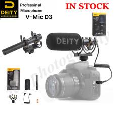 Deity V-Mic D3 Microphone Superior Off-axis Sound Performance Cardioid Shotgun