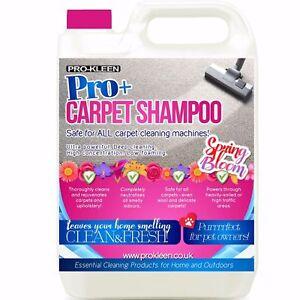 Pro-Kleen Pro+ Spring Bloom Carpet Shampoo Rug Cleaner Deodorising Concentrate