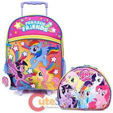 My Little Pony 40.6cm Grande Scuola Rullo Zaino Borsa Porta Pranzo 2pc Set