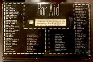 1950's Bar Aid Drink Cocktail Guide - Black - Working Condition