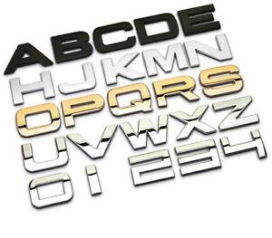 Matte Black Emblem Car Styling Hood Trunk Letters Badges Fit Range Rover URBAN