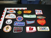 Advertising vintage patch collection set lot 16 total patches