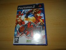 GUILTY GEAR X2 ricaricare SONY PLAYSTATION 2 PS2 NUOVO SIGILLATO UK PAL