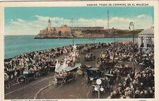 Postcard Carnival at Malecon Promenade Habana Cuba
