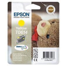 2 pièce d'origine Epson t0614 c13t061440 jaune d68 d88 dx3800 dx4200 MHD 09/2016