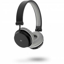 KitSound Metro Wireless Bluetooth On-Ear Headphones Black