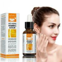 ALIVER Vitamin C Serum For Face Eyes Neck Brighten Ageing Anti & Anti Wrink G8P7
