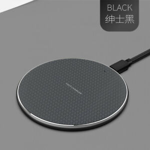 Wireless Charger For iPhone Samsung S9 S8 Fast Wireless Charging USB Charger Pad