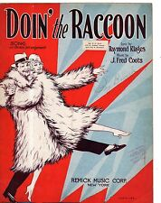 1928 Doin' the Raccoon by Raymond Klages and J Fred Coots