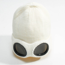 Beanie Hats Winter Knit Caps Plush Lined Glass Hats Ski Goggle Knitted Cap