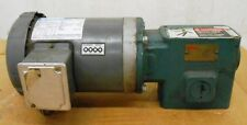 MARATHON MOTOR G527, 1 // 0.75 HP, DODGE TIGEAR SPEED REDUCER Q202Y030N056K1