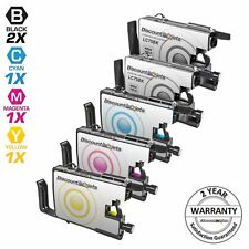 5pk LC75 LC-75 XL Black & Color Printer Ink Cartridge for Brother MFC-J435W