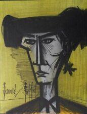 BUFFET Bernard : le torero- LITHOGRAPHIE originale signée et référencée #MOURLOT