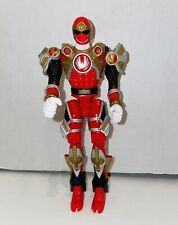 2002 Power Rangers Ninja Storm Red Samurai Turbo Tri-Battlized Figure EX Cond