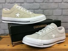 CONVERSE UK 7 EU 40 ONE STAR VINTAGE GREY  ALL STAR LO SUEDE TRAINERS LG