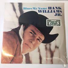 "HANK WILLIAMS JR. ""BLUES MY NAME"" VINTAGE LP - 12"" FACTORY SEALED"