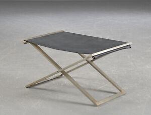 Michael Christensen foldable stool 60s mid century Kjærholm WEGNER