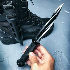 "10"" M48 Cyclone Dagger Tactical Combat Fixed Blade Knife Bowie Boot Sheath"