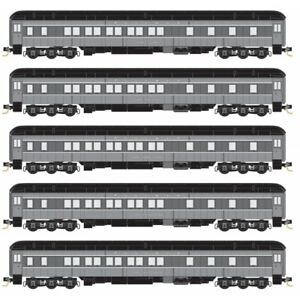 Micro-Trains MTL N-Scale Heavyweight Passenger Car 5-Pack Union Pacific/UP