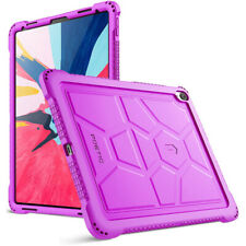 iPad Pro 12.9 (2018) Tablet Case Poetic Soft Silicone Protective Cover Purple