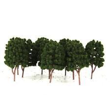 10Pcs Trees Model Train Railway Diorama Architecture Scenery Landscape 1/100