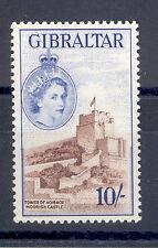 GIBRALTAR SG 157 1953 Q E II 10/-  MNH