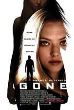 GONE Movie POSTER PRINT 27x40 Amanda Seyfried Jennifer Carpenter Daniel Sunjata