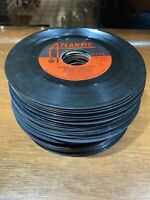 Bulk Lot of 50 7 inch 45 RPM Vinyl Records - Crafts Decorations Etsy Small