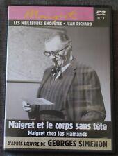 Jean Richard, Maigret et le corps sans tete & Maigret chez les Flamands, DVD N°3
